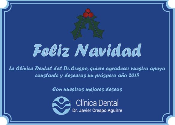 Felicitación del Dr Crespo