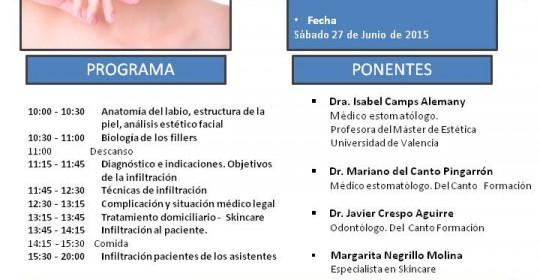 Curso de Estética Facial (perioral) del Canto Formación- 27 de juniol 2015-2