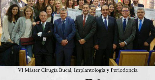 Graduación en Máster en CirugíaBucal, Implantología y Periodoncia de la Universidad de León 2016