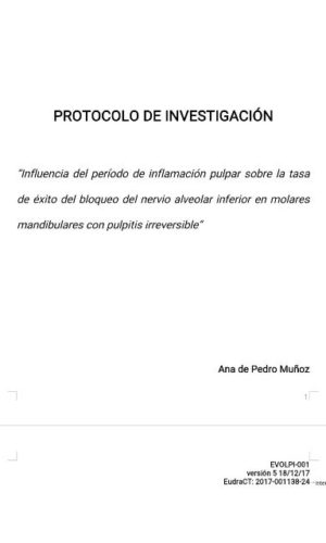 Dr Vincenzo Trentadue protocolo de investigacion UAX