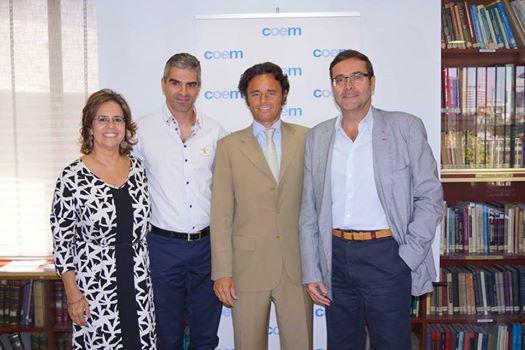 La Clínica Dental Dr. Crespo firma un acuerdo de colaboración con el COEM.