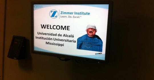 Dr. Crespo director curso de Cirugía Avanzada en Zimmer Institute – Suiza
