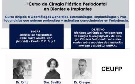 II Edición Curso de Cirugía Plástica Periodontal 2017