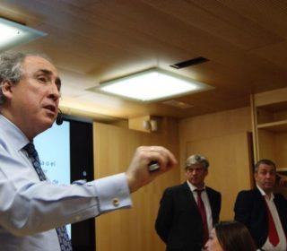 Inauguración del nuevo centro de Estudios Universitarios del Grupo Fomento (ceu-fp) Madrid-3